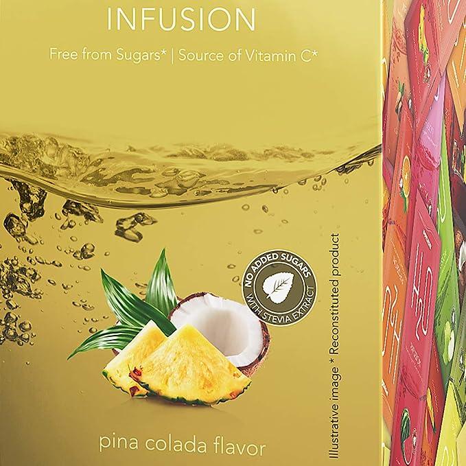 Prozis H2O Infusion Pina Colada - 1 Paquete de 1 x 500 gr - Total: 500 gr