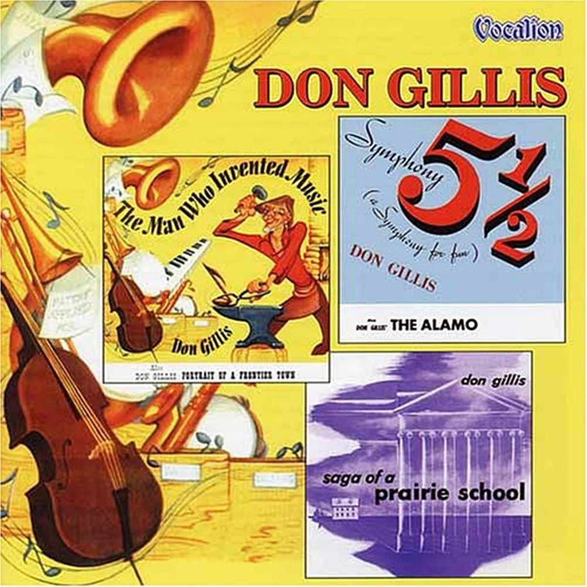 Symphony 5 1/2 / Saga of Prarie School by Gillis, Don
