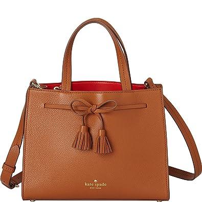 Kate Spade New York Women s Hayes Street Small Isobel Warm Cognac Handbag 29581b5d27784