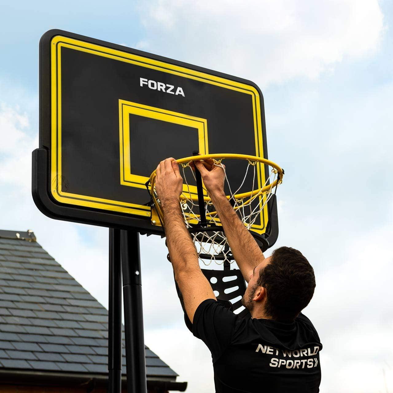 180-Degree Basketball Ball Return System FORZA Basketball Shot Returner