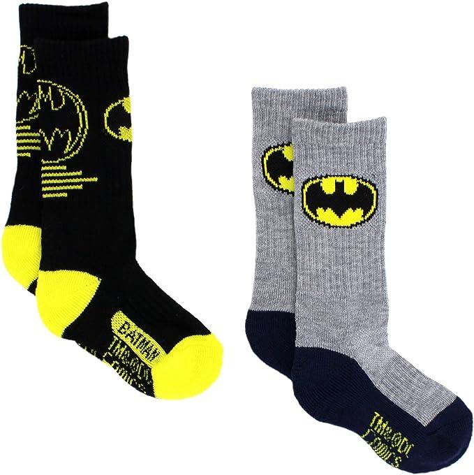 DC COMICS Batman Athletic Socks One Size Fits Most