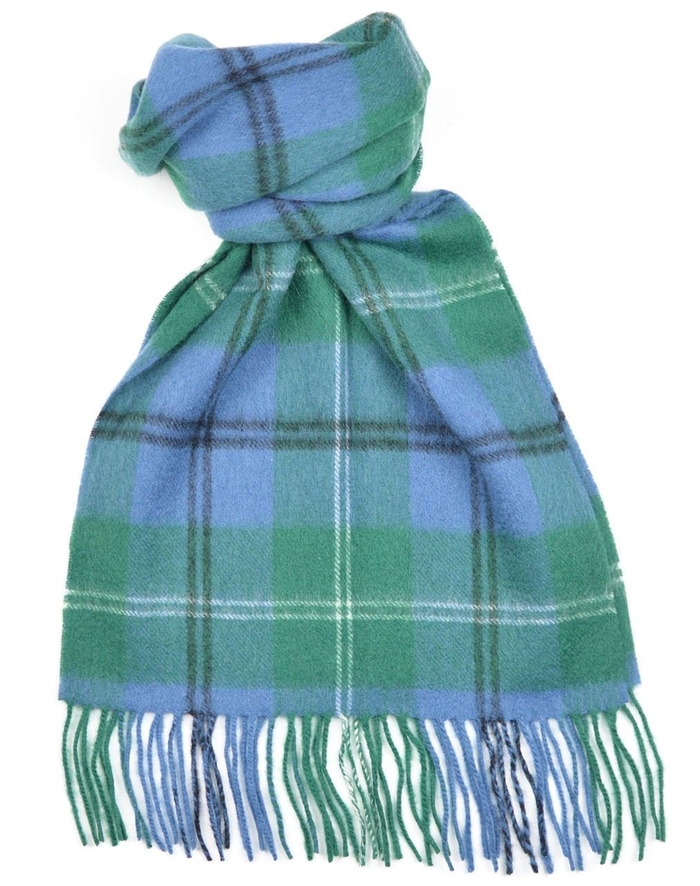 Lambswool Scottish Clan Scarf Melville Ancient Tartan by Macdonald Sporrans (Image #1)