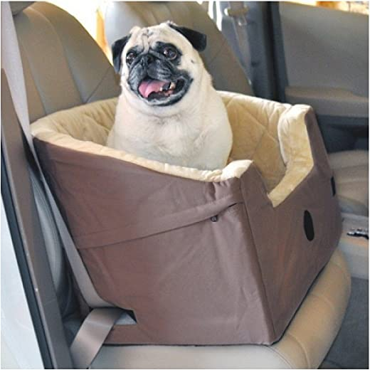 K H Bucket Booster Pet Seat – Small Grey KH-7622