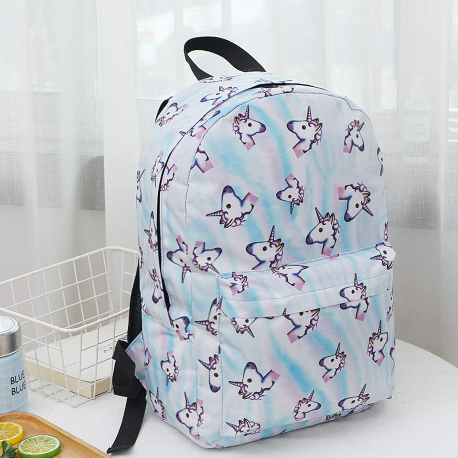 Amazon.com | Unicorn Backpack Lightweight Kids School Preschool Travel Backpack for Girls with Free Unicorn Headbands or Unicorn Keychain | Kids Backpacks