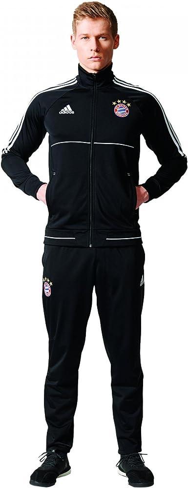 adidas Fcbpes Suit Chándal FC Bayern de Munich, Hombre: Amazon.es ...