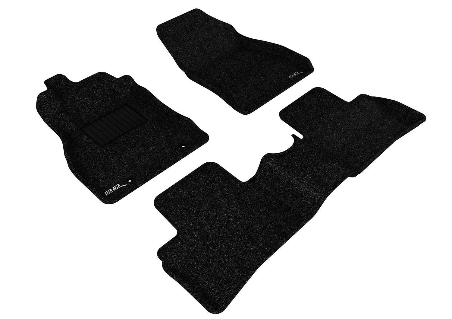 Classic Carpet 3D MAXpider Second Row Custom Fit Floor Mat for Select Nissan Juke Models L1NS06422201 Gray