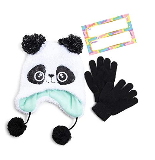 3b0369d0444 Amazon.com  Children s Winter Beanie and Gloves