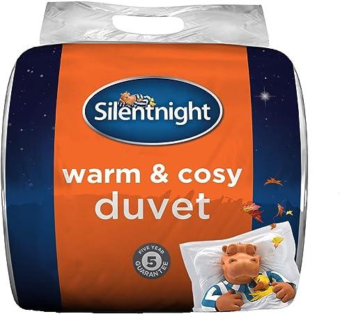 Silentnight Warm and Cosy 13.5 Tog, White, King: Amazon.co.uk