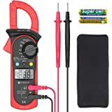 Etekcity Digital Clamp Meter Multimeter Amp Volt Voltage Tester with Ohm, Continuity, Diode and Resistance Test, Auto…