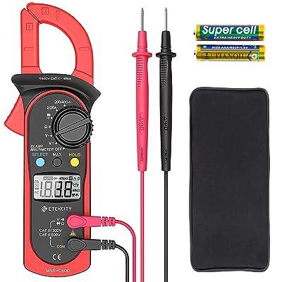 Etekcity Digital Multimeter Amp Volt Clamp Meter Voltage Tester
