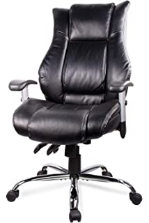 Amazon.com: SMUGDESK Executive Office Chair High Back Desk ...
