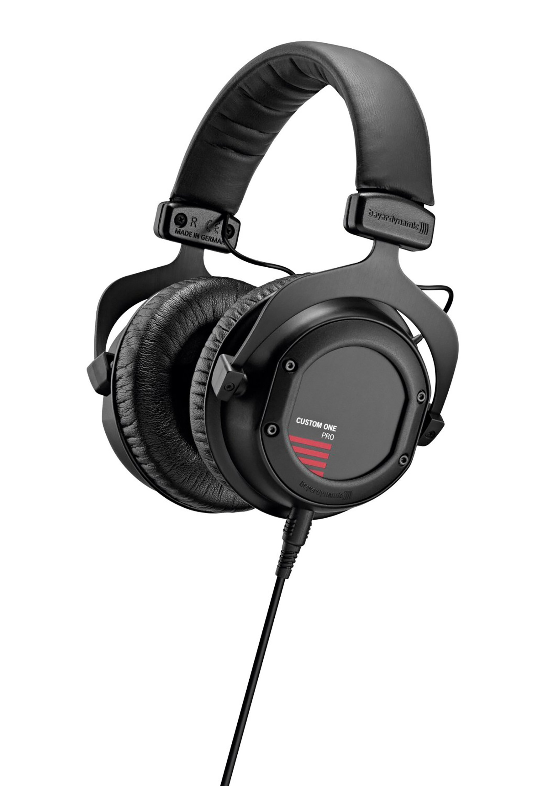 beyerdynamic Custom One Pro Plus Headphones with Accessory Kit and Remote Microphone Cable, Black by beyerdynamic