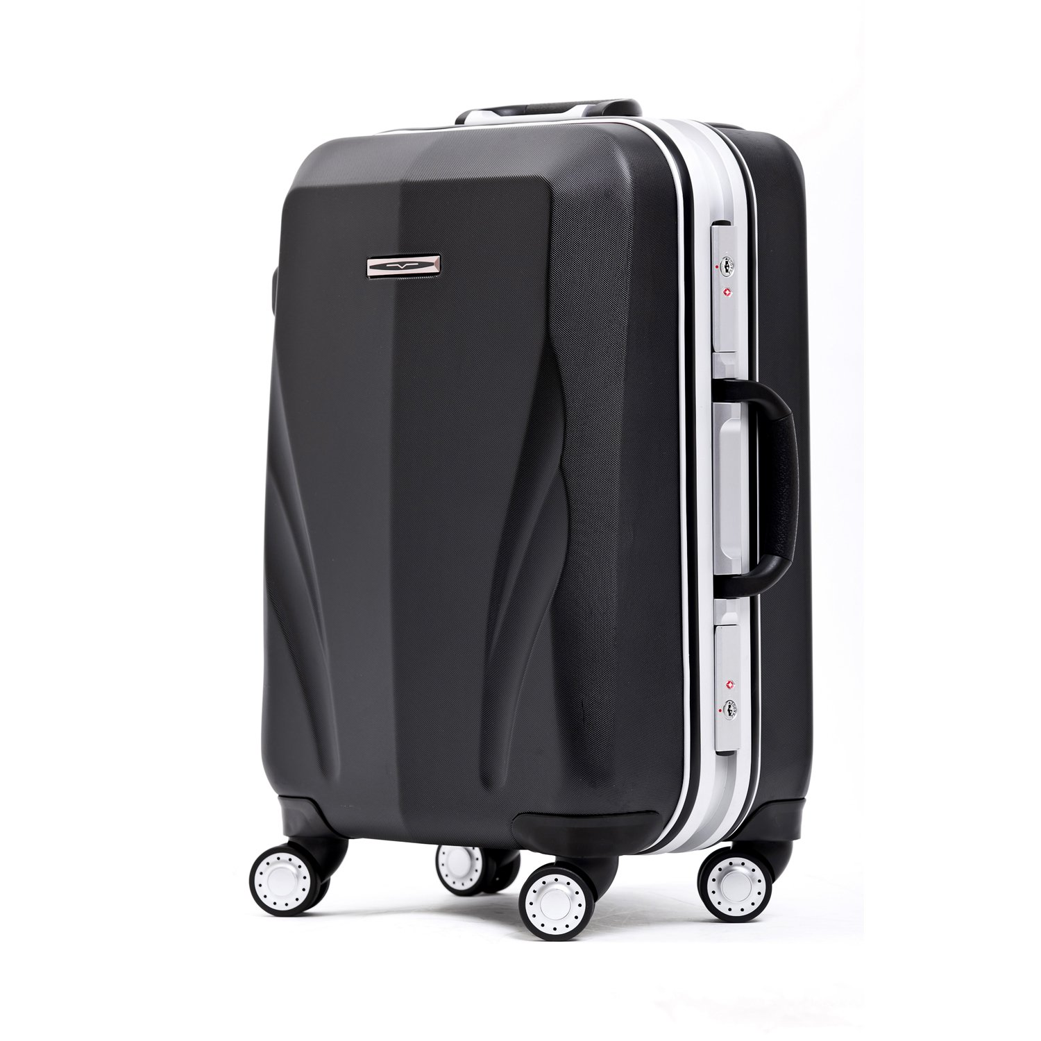 Unitravel Lightweight Luggage Hardside PC Suitcase Spinner Carry on Travel Gear