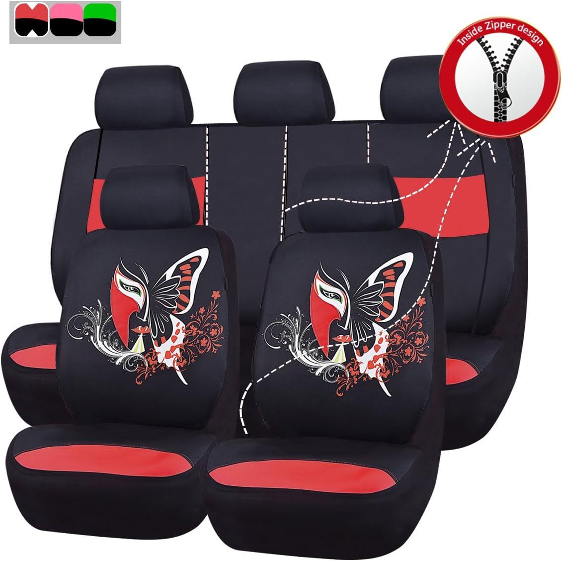 NEW Arrival Airbag Compatibile auto Pass 11/set di coprisedili universali InSPAration package-universal per veicoli auto con 5/mm composito spugna all interno