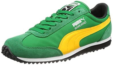 719b84a5bfb9 Puma Mens Whirlwind Classic Low Top Green Grün (amazon-zinnia 45) Size