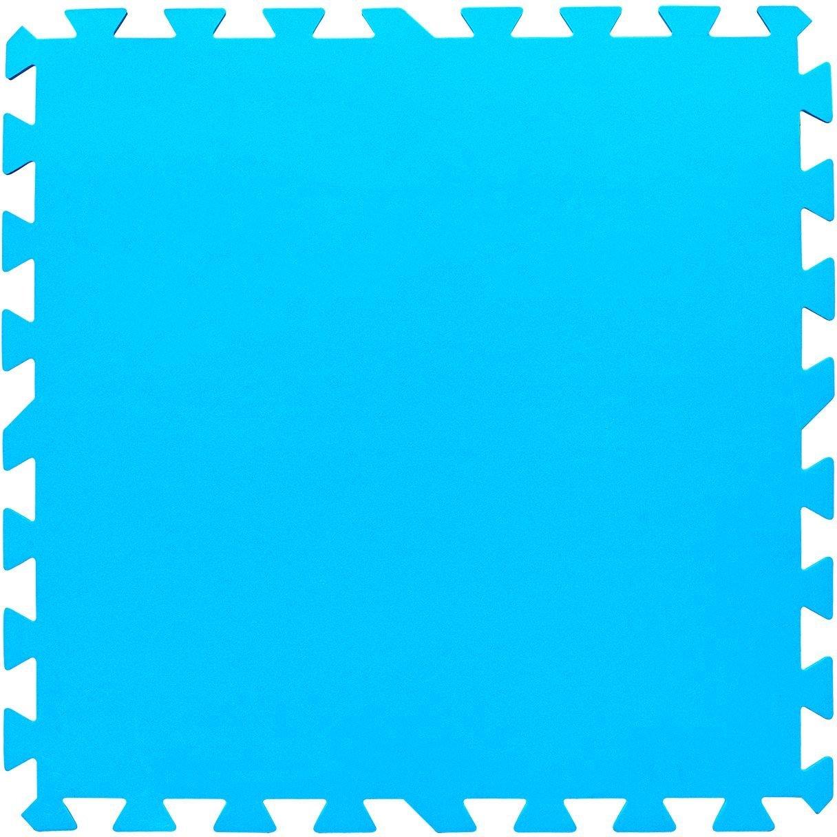 Protector suelo de 8 piezas 50 x 50 cm para piscinas for Protector suelo piscina