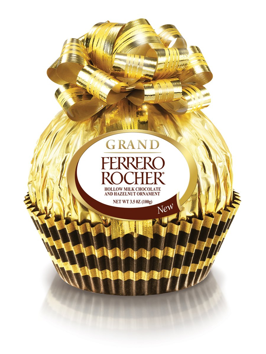 Amazon.com : Ferrero Grand Ferrero Rocher Chocolate, 3.5 Ounce ...