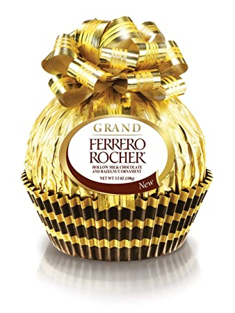 Amazon.com : Ferrero Grand Ferrero Rocher Chocolate, 3.5 Ounce ...