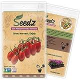 CERTIFIED ORGANIC SEEDS (Apr. 100) - San Marzano Paste Tomato - Heirloom Tomato Seeds - Non GMO, Non Hybrid Vegetable Seeds - USA