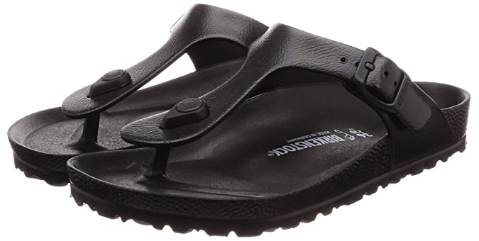 0f7fc1c3691e Birkenstock Unisex Adults  Gizeh Eva Flip Flops Black  Amazon.co.uk  Shoes    Bags