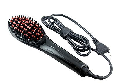Multifuncional Cepillo de pelo eléctrico, redondo glättb, cepillo de pelo con calor Cerámica de