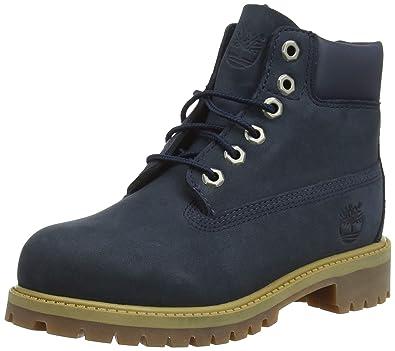 Timberland 6-inch Premium Wp, Unisex-Kinder Kurzschaft Stiefel, Blau (Medium 27b9380fa2