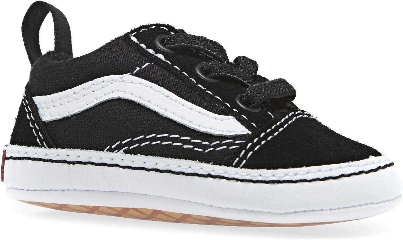 Vans Old Skool Crib Black//True White