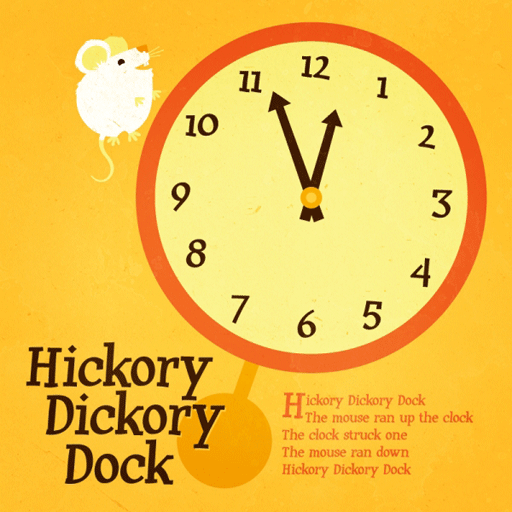 Kids Poem Hickory Dickory Dock PDF