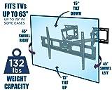 Mount-It! MI-484C Articulating Corner Mount for TV