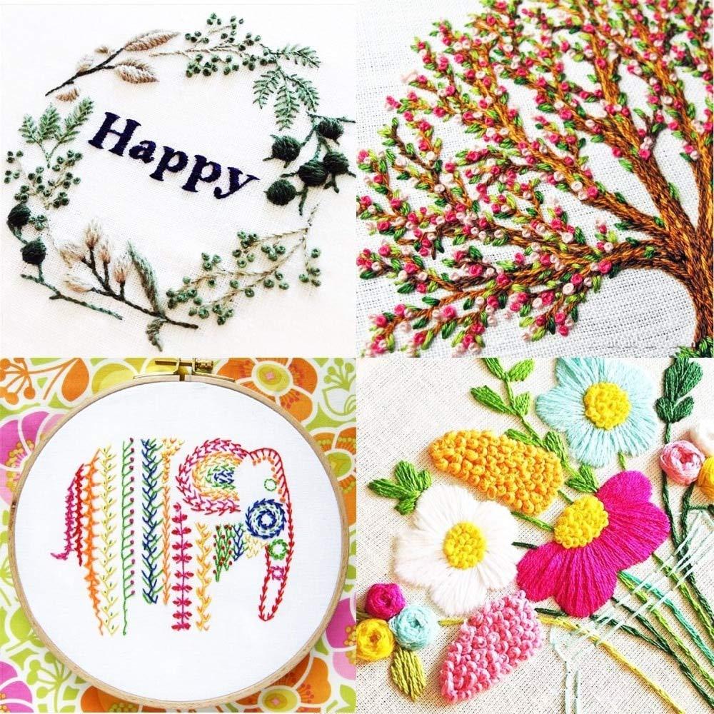 Cotton Thread Crochet with New Design 2019, 16 Colors Ball Cotton Threads for Cross Stitch - Crochet Thread Size, Dmc Cotton Thread, Anchor Pearl Cotton, Large Yarn Lot, Thread for Crochet