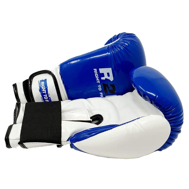 R2F Sports Pu/ñetazos Mitts Formaci/ón Sparring Muay Thai Cuero Coluber Shine Boxeo Guantes