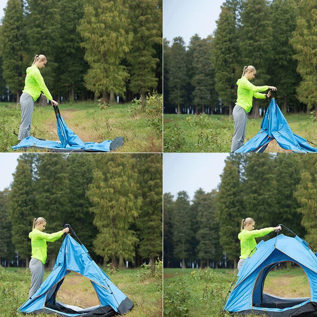 Instant Pop Up Camping Tenten Voor 2 Persoon Familie, Zon Shelters, Coleman Tent Regenbestendige Ademend Comfortabele Groot Is Voor Family Garden Camping Vissen,Blue Green