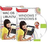 Inception India Learn Windows 7, Windows 8, Ubuntu, MAC OS - Operating Systems (2 CDs)