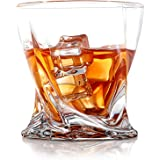 COPLIB Whiskey Glasses Set of 6, Old Fashioned Glasses with Luxury Box, Premium 11 OZ Crystal Glasses for Whiskey Lovers, Roc