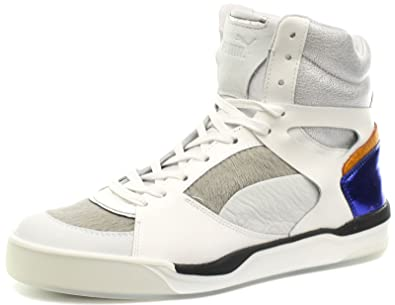 7a090db3968768 Puma Alexander McQueen MCQ Move Femme Mid White Womens Trainers Size UK 3.5