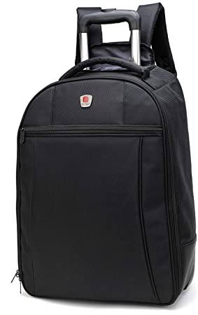 City Bag - Mochila de 44 l con Ruedas - Equipaje de Cabina de 55 x 40 x 20 cm: Amazon.es: Equipaje