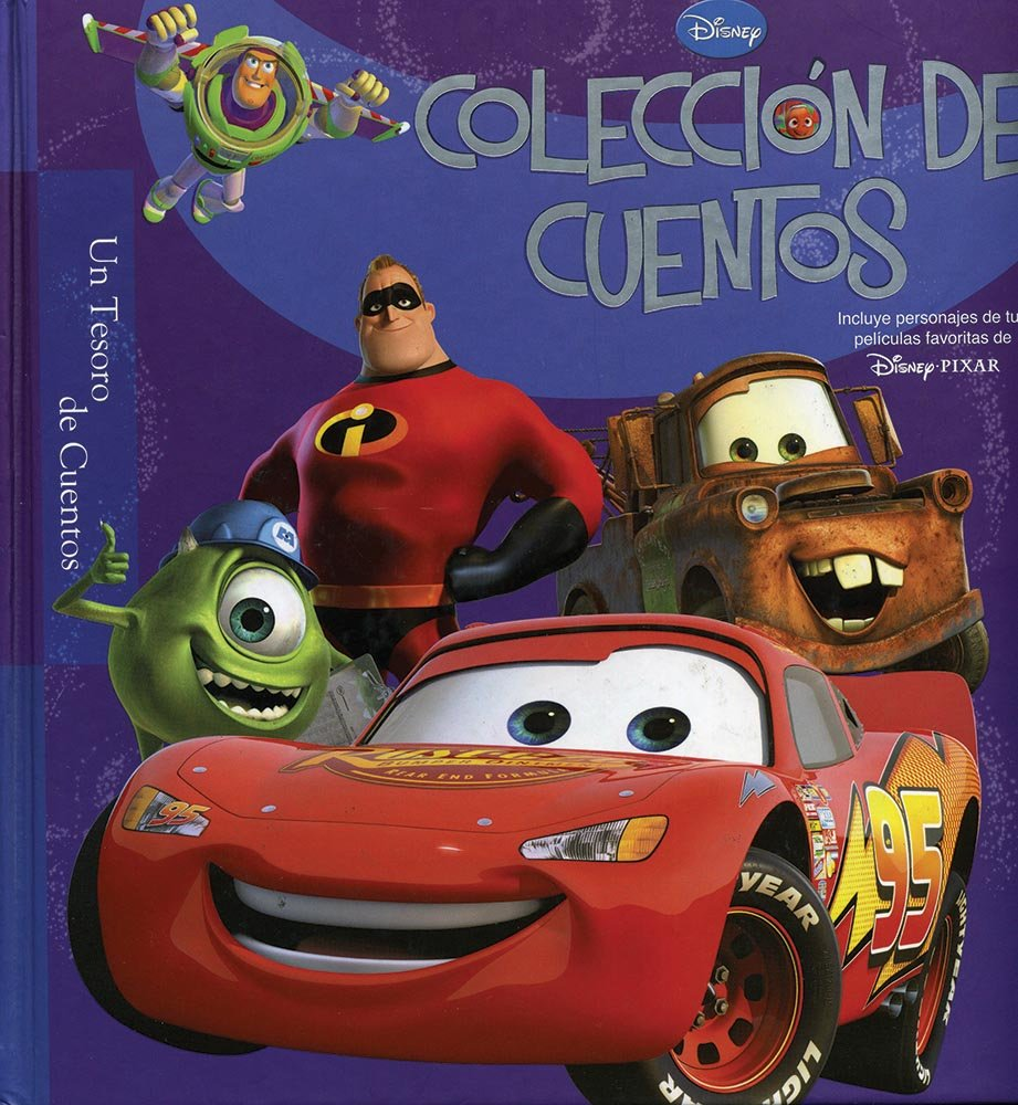 Disney Tesoro de cuentos: Coleccion de cuentos Pixar (Disney tesoro de cuentos / Disney Treasury of Tales) (Spanish Edition) (Spanish) Board book – October ...