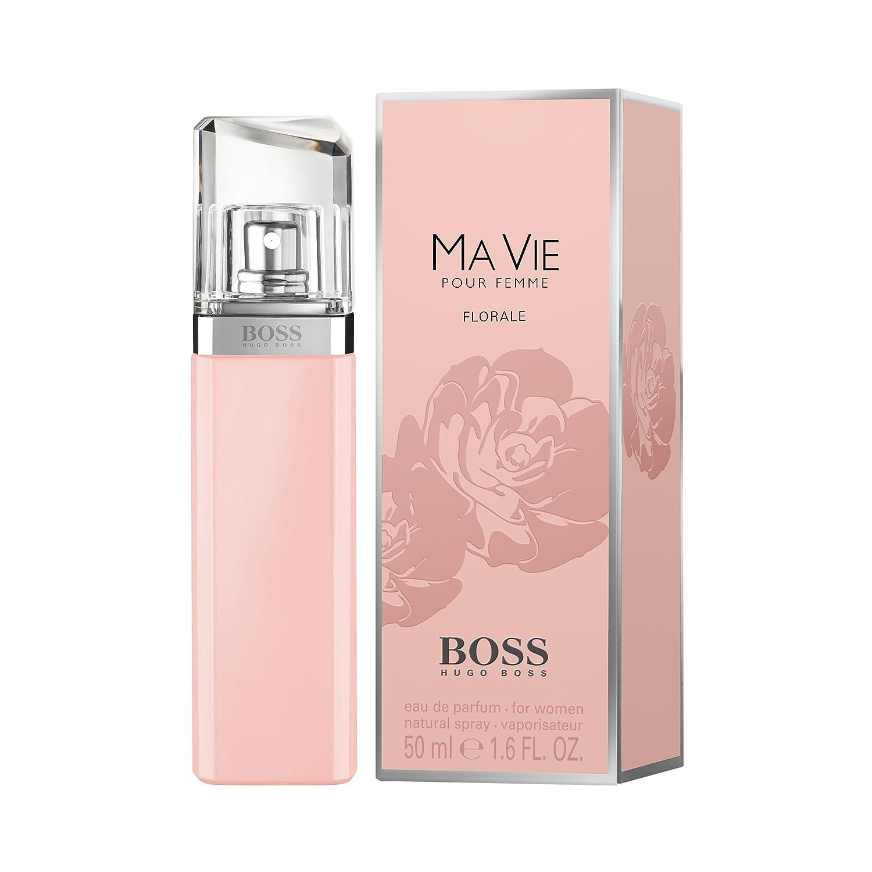 f9d0c114f2 Amazon.com  Hugo Boss MA VIE FLORALE Eau de Parfum