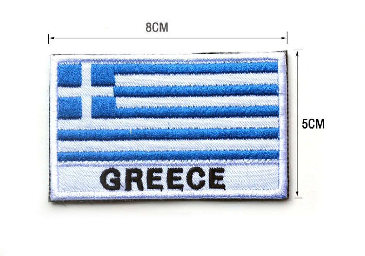 Drapeau Badge Badge Velcro Broderie Tissu Badge Brassard Collant Et Prêt À Utiliser