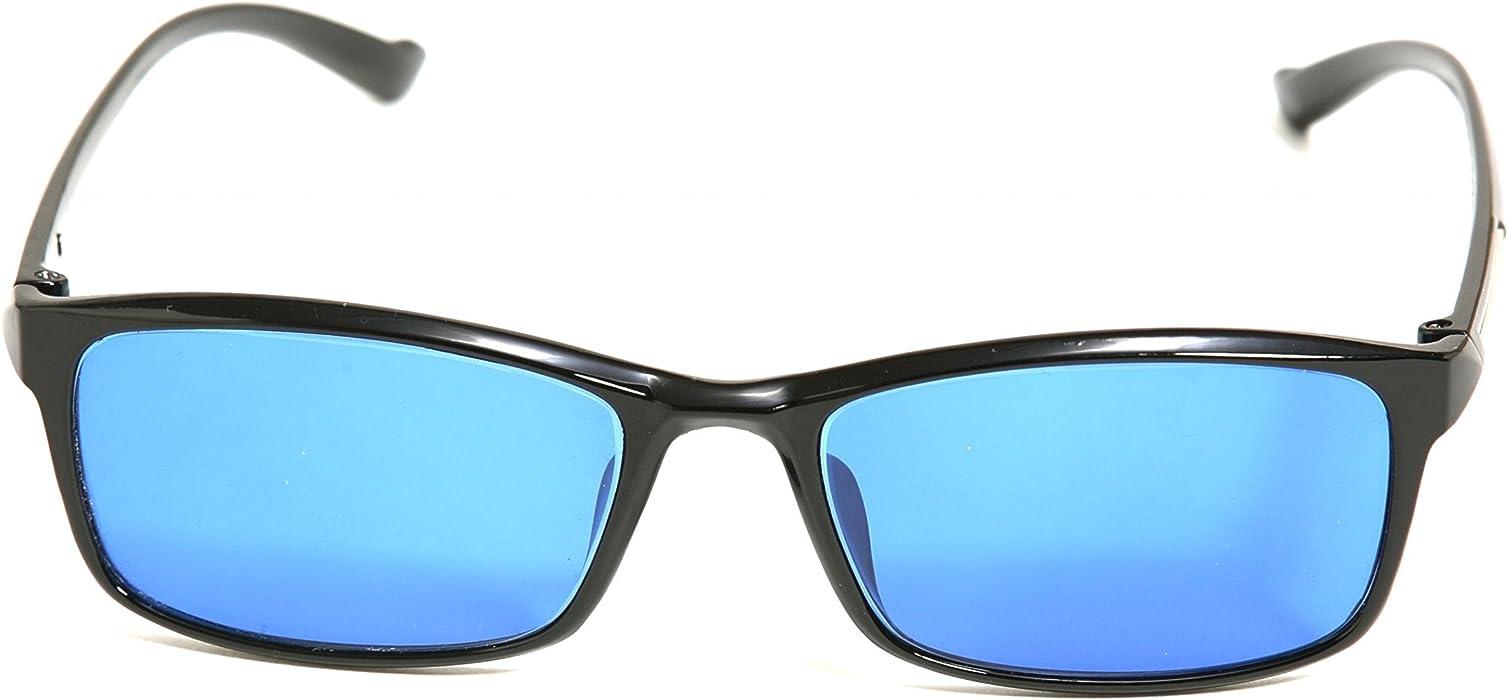 4c98989baab9 Pilestone TP-008 Blue Color Blind Glasses (Tritanomaly Tritanopia ...