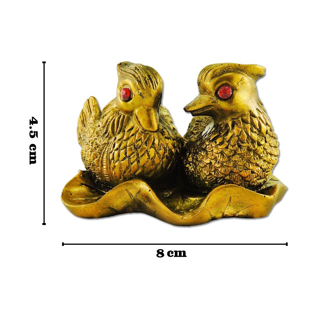 Amazon.com: Ratnatraya Feng Shui Love Birds Showpiece for Love and ...