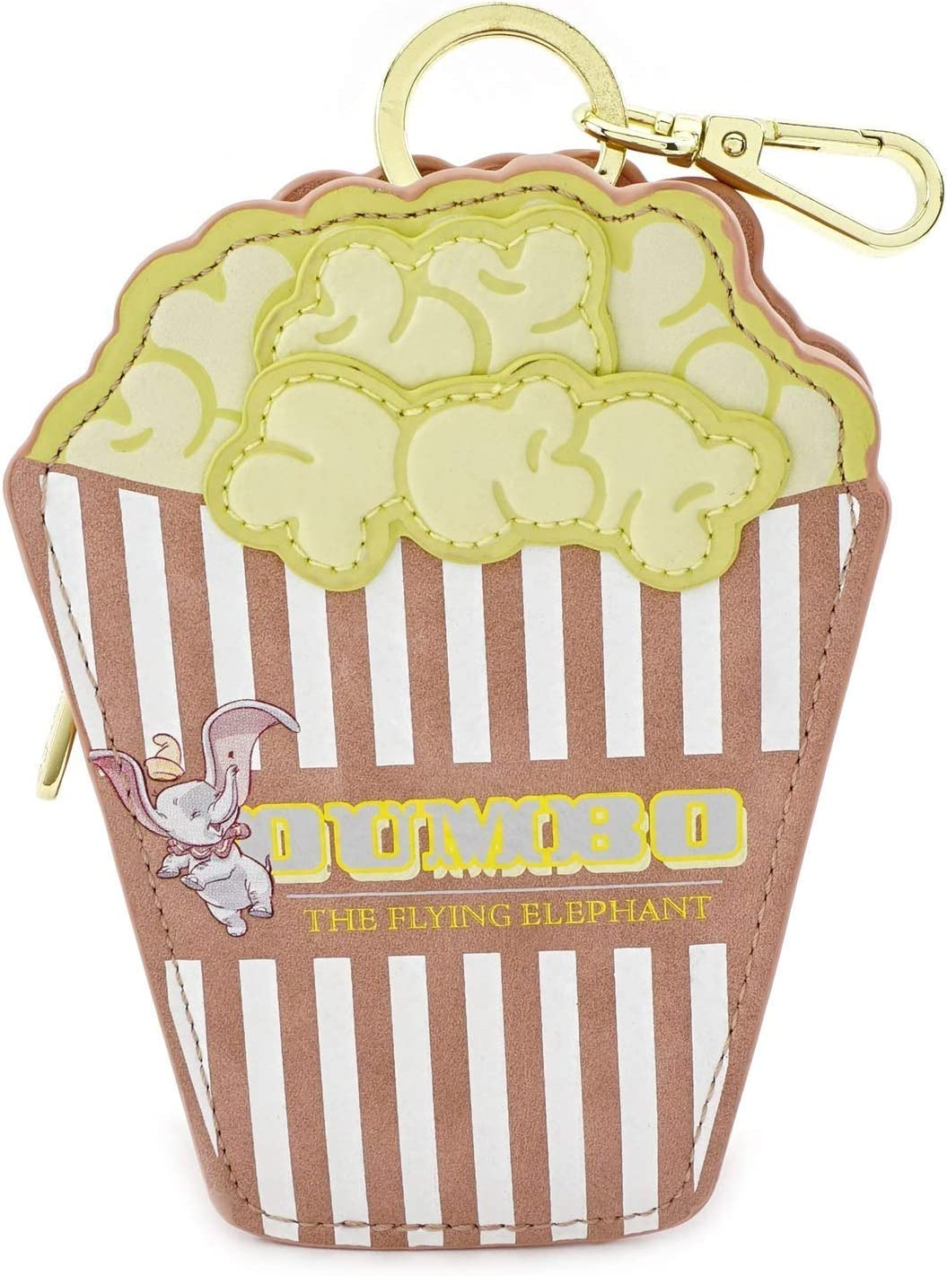 Einheitsgr/ö/ße Disney Dumbo Popcorn Tasche multi Loungefly Kunstleder Rei/ßverschluss Clip M/ünzgeldb/örse,