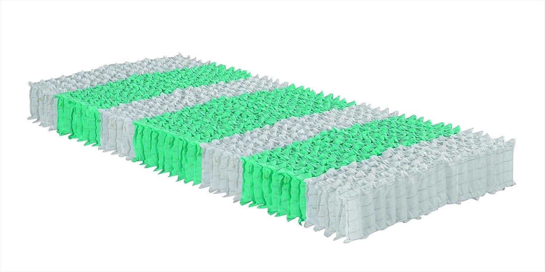Betten ABC 7 Zonen Taschenfederkern Matratze OrthoMatra Traumland TFK mit  Kaltschaum-Ummantelung  mit  Orthopädische Matratze H2,5 in 100 x 200 cm e77bef