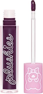 product image for Lime Crime Plushies Soft Matte Lipstick, Grape Jelly - Sheer Grape - Blackberry Candy Scent - Long Lasting, Nude Lips - Soft Focus, Non-Opaque Lip Veil - 0.11 fl oz