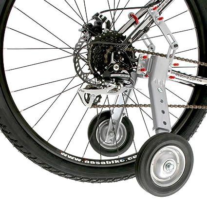 8bda3b70485 Amazon.com : CyclingDeal Adjustable Adult And Kids Bicycle Bike Training  Wheels Fits 24