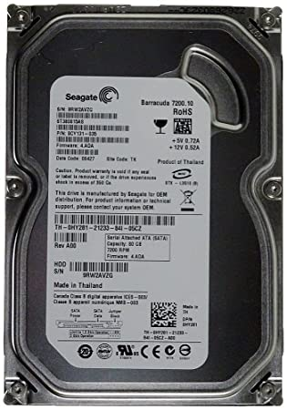 Seagate  New Seagate ST380815AS 80GB Barracuda 7200.10 Hard Drive