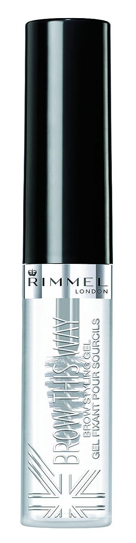 Rimmel Brow This Way Eyebrow Gel Clear, 0.17 Fluid Ounce