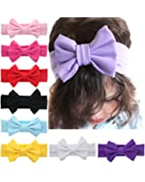 Iversan Baby Girl's Elastic Hair Hoops Headbands