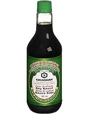 Kikkoman Kikkoman Less Sodium Soy Sauce, 0.591 Liter