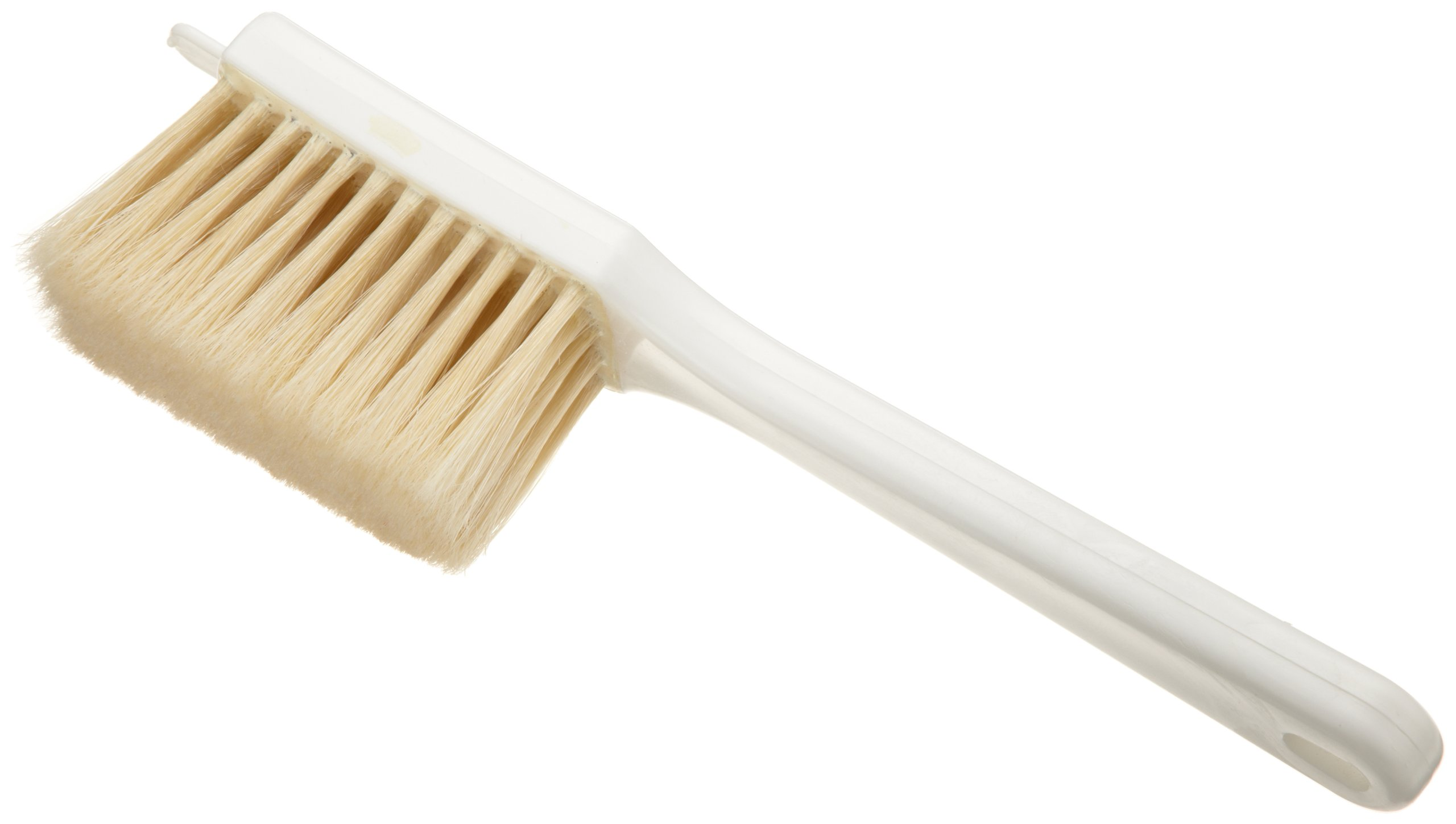 Ateco 1624 Icing Brush, 1 7/8 x 4-Inch Head with Natural White Boar Bristles & Molded Plastic Handle by Ateco